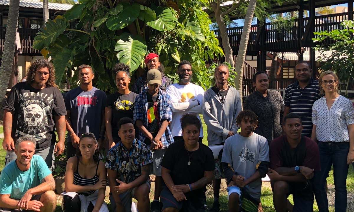 Teams from Wake Up! 2018 workshop - Noumea, New Caledonia