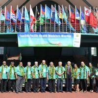 12th Pacific Health Ministers Meeting - Rarotonga, Cook Island 2017